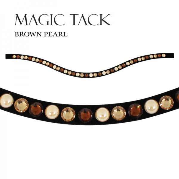 MagicTack Inlay Swing einreihig Brown Pearl