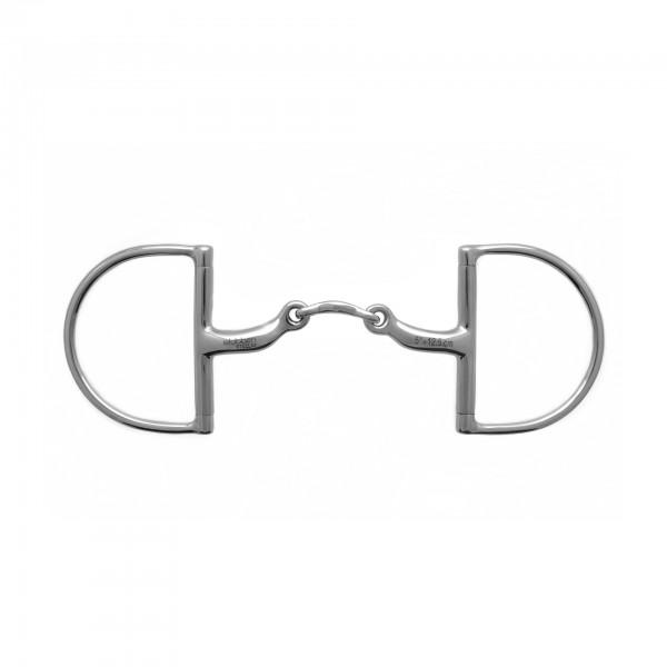 Stübben STEELtec Gebiss 2259 D-Ring-Trense Anatomisch