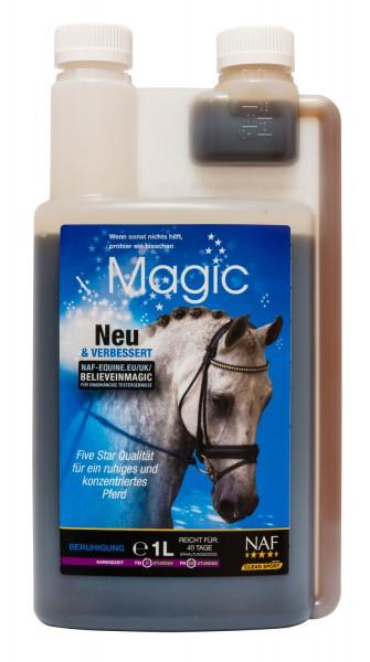 NAF Magic Flüssig für ein ruhiges und konzentriertes Pferd