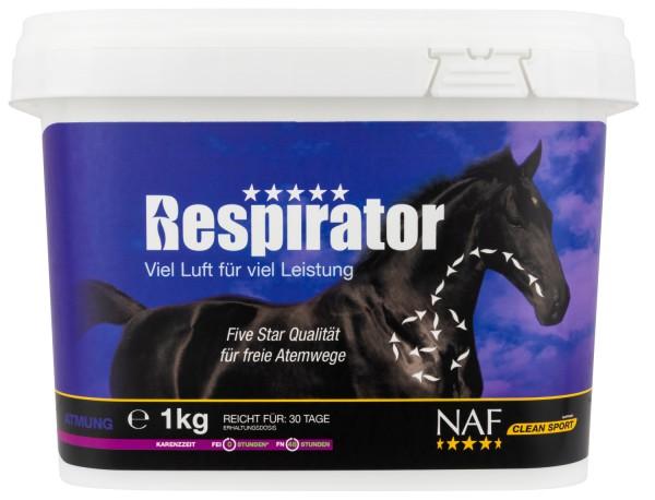 NAF Respirator Pulver für optimale Lungenfunktion und Atmung