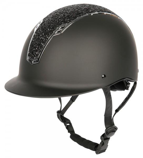 Harry's Horse Sicherheitsreithelm Centaur schwarz-silber
