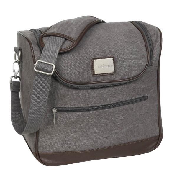 LeMieux Putztasche Luxury Canvas Grooming Bag grey