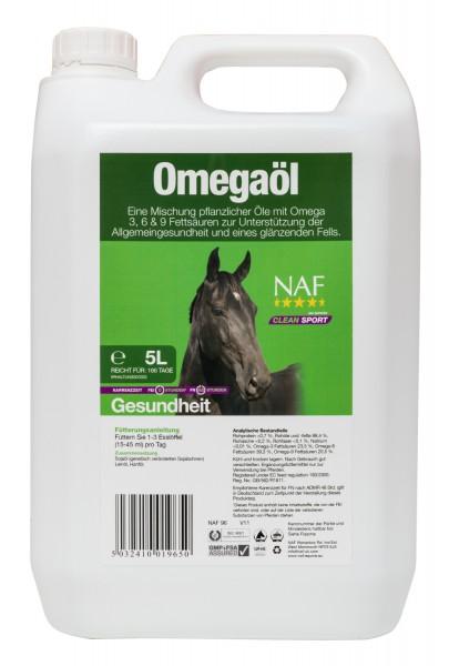 NAF Omegaöl zu Unterstützung der Allgemeingesundheit und eines glänzenden Fells