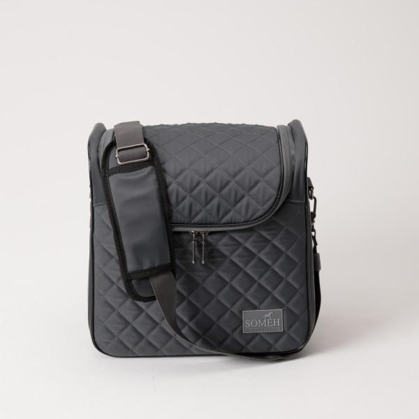 Someh Putztasche - Turniertasche Compact Equestrian Grey