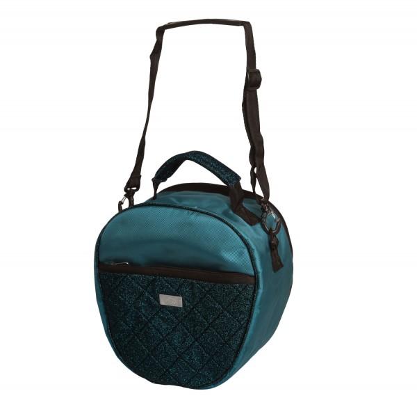 SD Design Helmtasche Hollywood Glamorous blue lagoon glitter