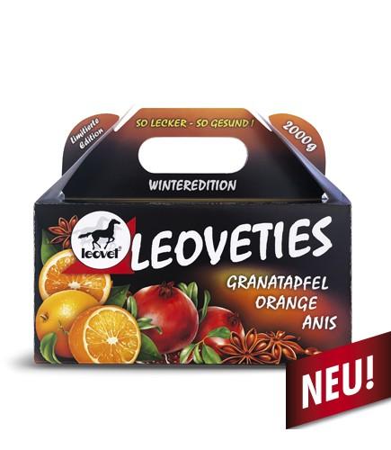 leovet Leckerli leoveties Winteredition Granatapfel Orange Anis