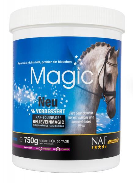 NAF Magic Pulver für ein ruhiges und konzentriertes Pferd