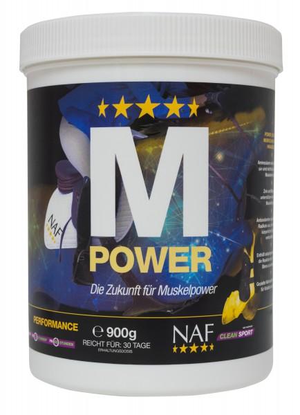 NAF M Power Pulver für maximale Kraft, Ausdauer und Muskelaufbau
