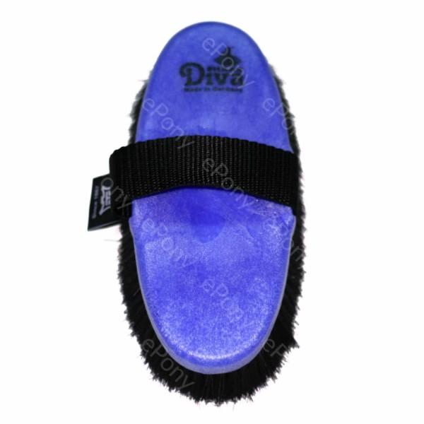 Haas Diva Glanzbürste blau