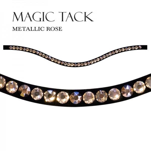 MagicTack Inlay Swing einreihig Metallic Rose