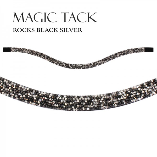 MagicTack Inlay Swing Rocks Black Silver