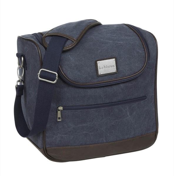 LeMieux Putztasche Luxury Canvas Grooming Bag navy