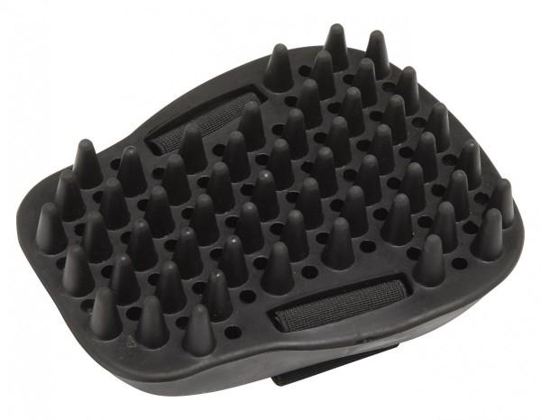 LeMieux Gumminoppenstriegel Mouse Groomer schwarz