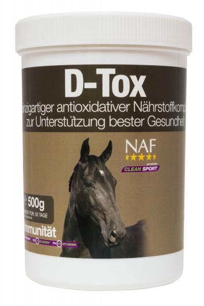 NAF D-Tox Entgiftungskur mit einzigartigem Antioxidantienkomplex