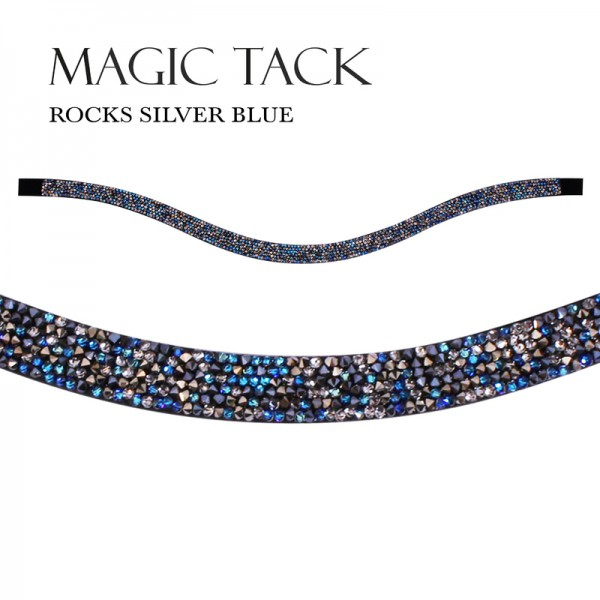MagicTack Inlay Swing Rocks Silver Blue