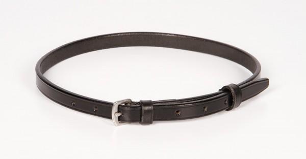Harry's Horse Sperrriemen aus Leder schwarz