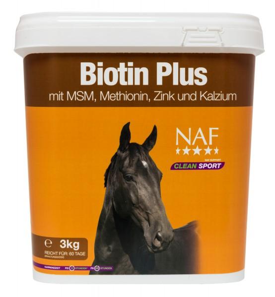 NAF Biotin Plus zur Erhaltung der Hufintegrität