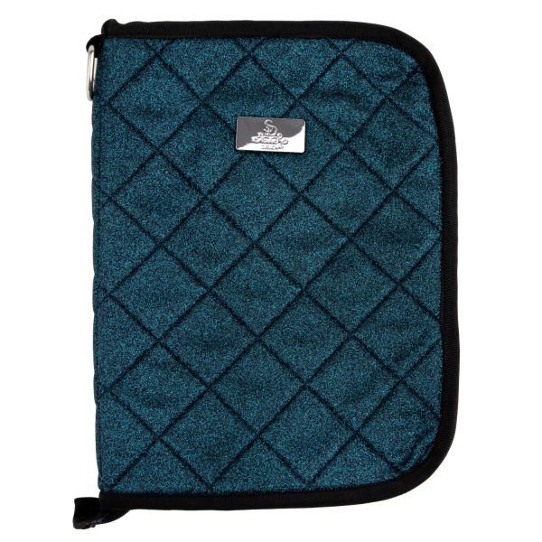 SD Design Equidenpass Tasche Hollywood Glamorous blue lagoon glitter