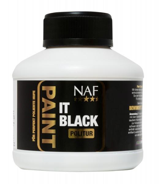 NAF Paint It Black Huflack schwarz