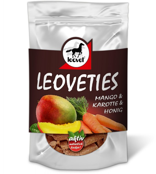 leovet Leckerli Leoveties Gaumenschmaus Mango Karotte Honig