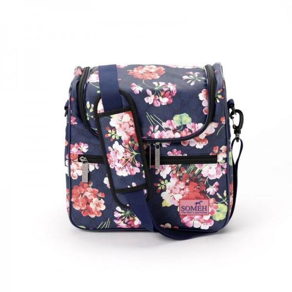 Someh Putztasche - Turniertasche Compact Petite Fleur
