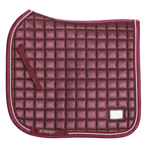 SD Design Schabracke Hollywood Glamorous raspberry shimmer