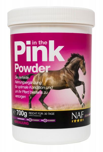 NAF In The Pink Powder Pulver für eine bestmögliche Futterverwertung und optimale Kondition