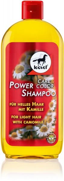 leovet Power Shampoo mit Kamille für helle Pferde