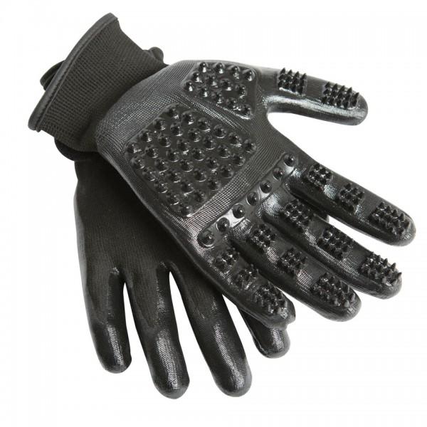 HandsOn Grooming Gloves Putzhandschuh schwarz