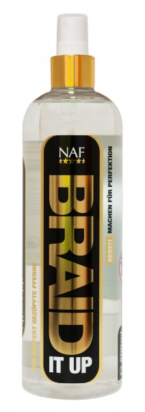 NAF Braid It Up Spray Einflechthilfe für Mähne und Schweif