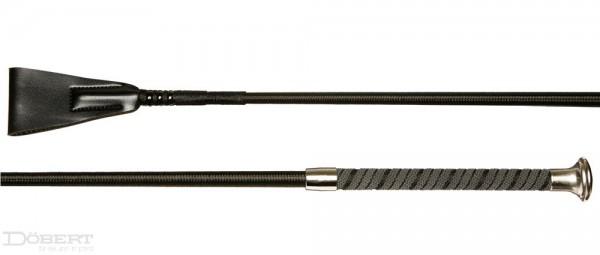 Döbert Reitstock mit Gummihaftgriff und Garn umflochten 65 cm