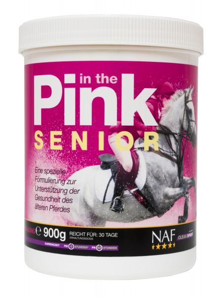 NAF In The Pink Senior Pulver für die bestmögliche Futterverwertung älterer Pferde